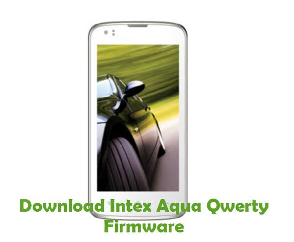 Download Intex Aqua Qwerty Firmware