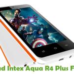 Intex Aqua R4 Plus Firmware