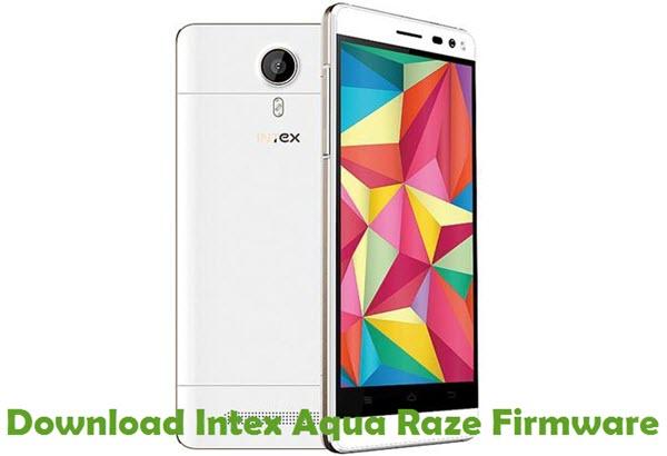 Download Intex Aqua Raze Firmware