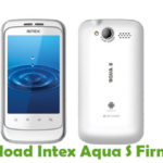 Intex Aqua S Firmware