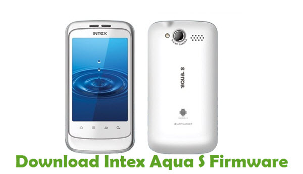 Download Intex Aqua S Firmware