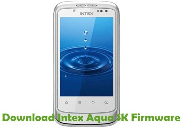 Download Intex Aqua SK Firmware