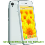 Intex Aqua Slice Firmware