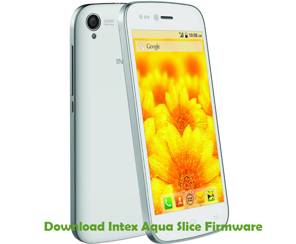 Download Intex Aqua Slice Firmware
