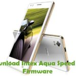 Intex Aqua Speed HD Firmware