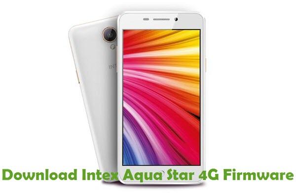 Download Intex Aqua Star 4G Firmware