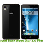 Intex Aqua Star 5.0 Firmware