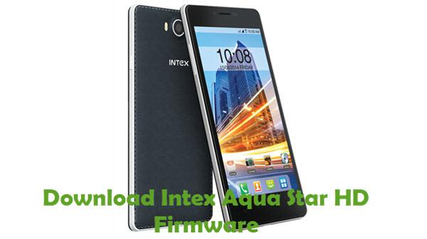Download Intex Aqua Star HD Firmware