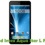Intex Aqua Star L Firmware