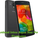 Intex Aqua Star Power Firmware
