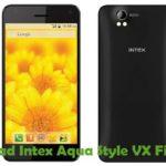 Intex Aqua Style VX Firmware