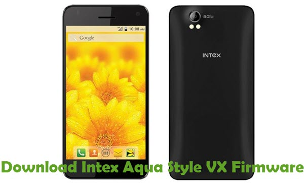 Download Intex Aqua Style VX Firmware