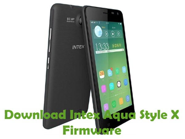 Download Intex Aqua Style X Firmware