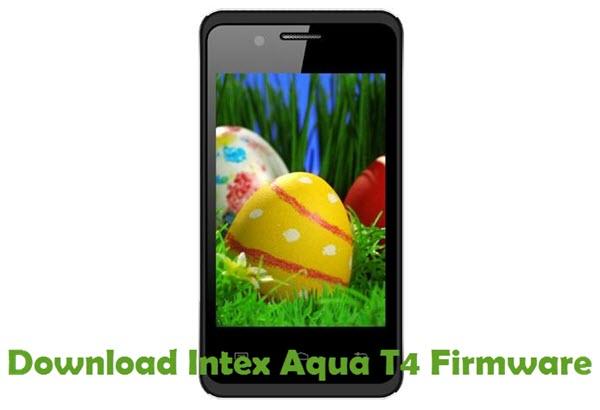 Download Intex Aqua T4 Firmware