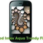 Intex Aqua Trendy Firmware