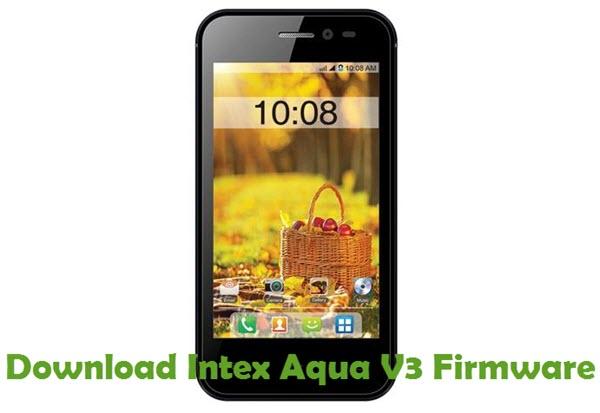 Download Intex Aqua V3 Firmware