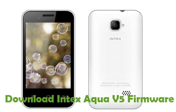 Download Intex Aqua V5 Firmware