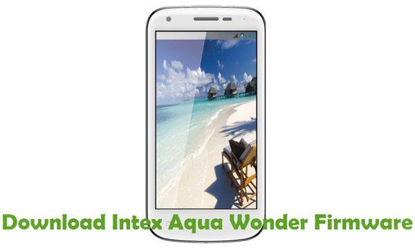 Download Intex Aqua Wonder Firmware