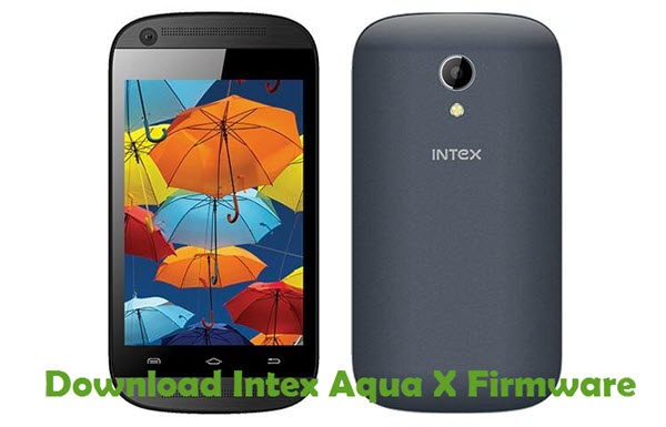 Download Intex Aqua X Firmware