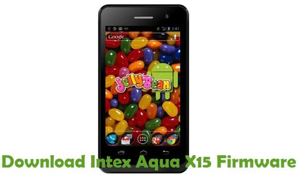 Download Intex Aqua X15 Firmware