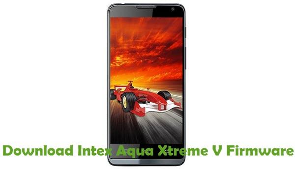 Download Intex Aqua Xtreme V Firmware