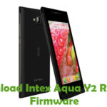 Intex Aqua Y2 Remote Firmware