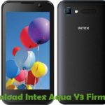Intex Aqua Y3 Firmware