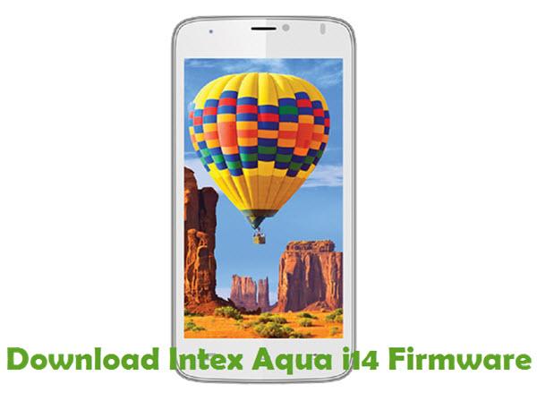 Download Intex Aqua i14 Firmware