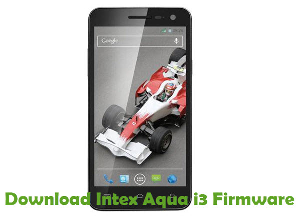 Download Intex Aqua i3 Firmware