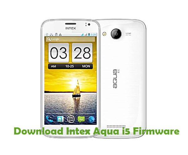 Download Intex Aqua i5 Firmware