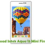 Intex Aqua i5 Mini Firmware