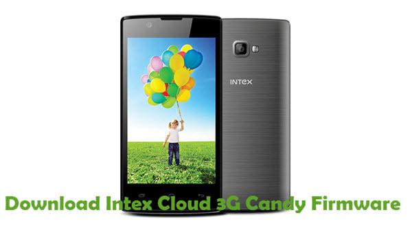 Download Intex Cloud 3G Candy Firmware