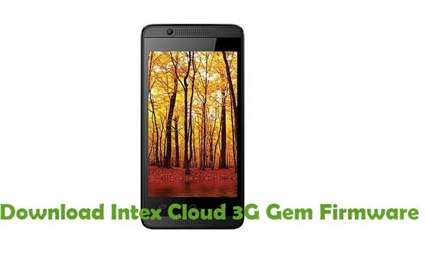 Download Intex Cloud 3G Gem Firmware