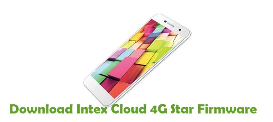 Download Intex Cloud 4G Star Firmware