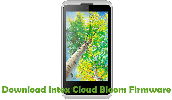 Download Intex Cloud Bloom Firmware