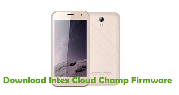 Download Intex Cloud Champ Firmware