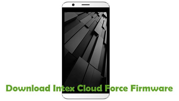 Download Intex Cloud Force Firmware