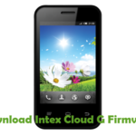 Intex Cloud G Firmware