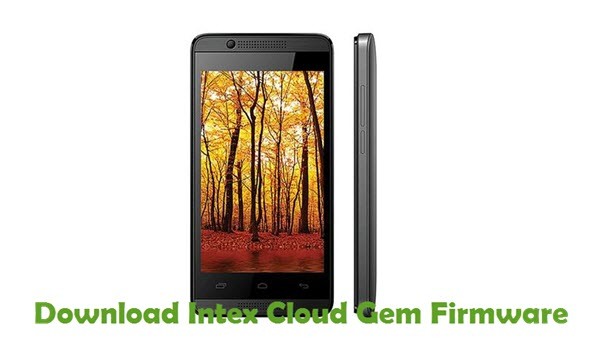 Download Intex Cloud Gem Firmware