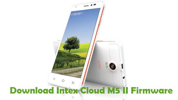 Download Intex Cloud M5 II Firmware