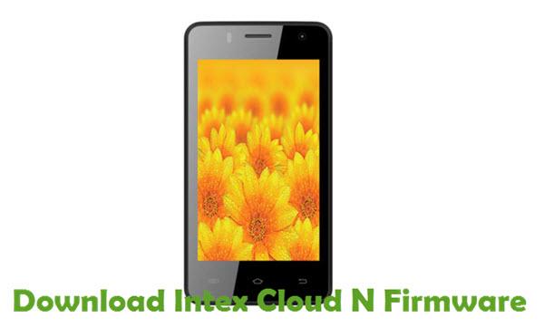 Download Intex Cloud N Firmware