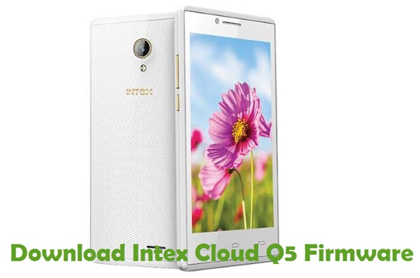 Download Intex Cloud Q5 Firmware