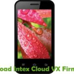 Intex Cloud VX Firmware