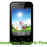 Intex Cloud X1 Firmware