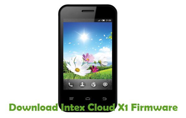 Download Intex Cloud X1 Firmware