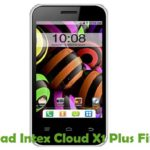 Intex Cloud X1 Plus Firmware