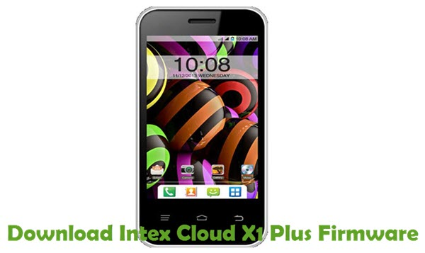 Download Intex Cloud X1 Plus Firmware