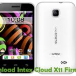 Intex Cloud X11 Firmware