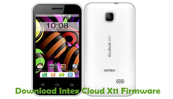 Download Intex Cloud X11 Firmware