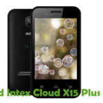 Intex Cloud X15 Plus Firmware